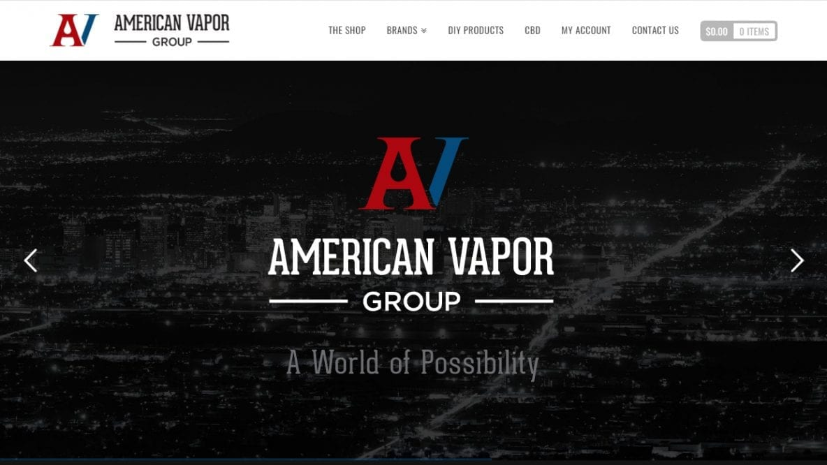 "Featured image for ""American Vapor Group"""