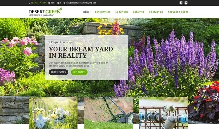 """Featured image for """"Desert Green Landscaping"""""""