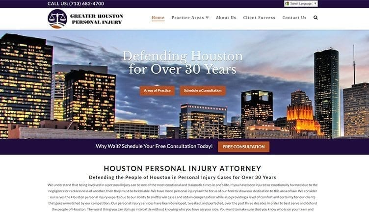 "Featured image for ""Greater Houston Personal Injury"""