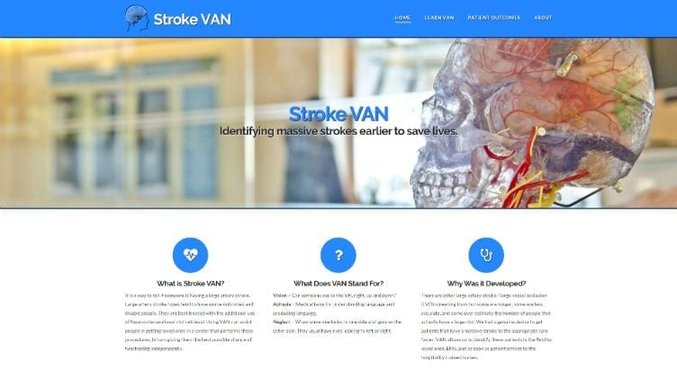"Featured image for ""Stroke VAN"""