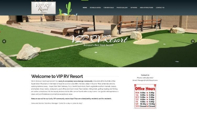 """Featured image for """"VIP RV Resort"""""""