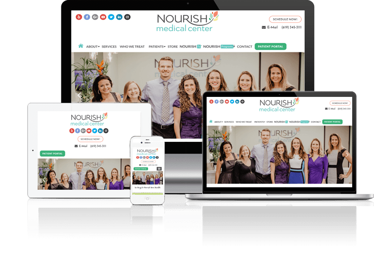 nourish site example