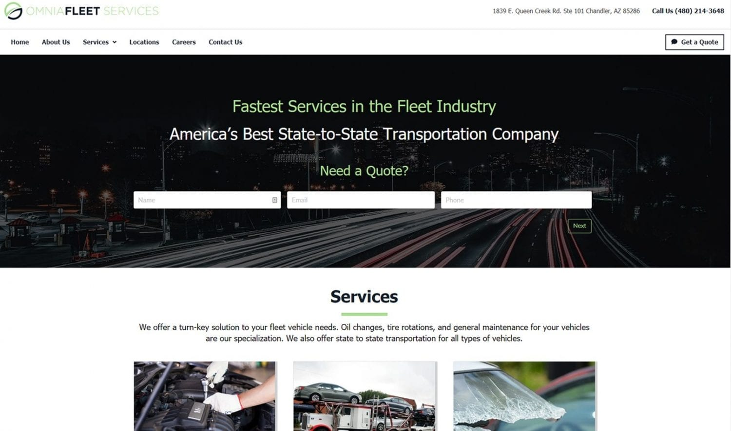 "Featured image for ""Omnia Fleet Services"""
